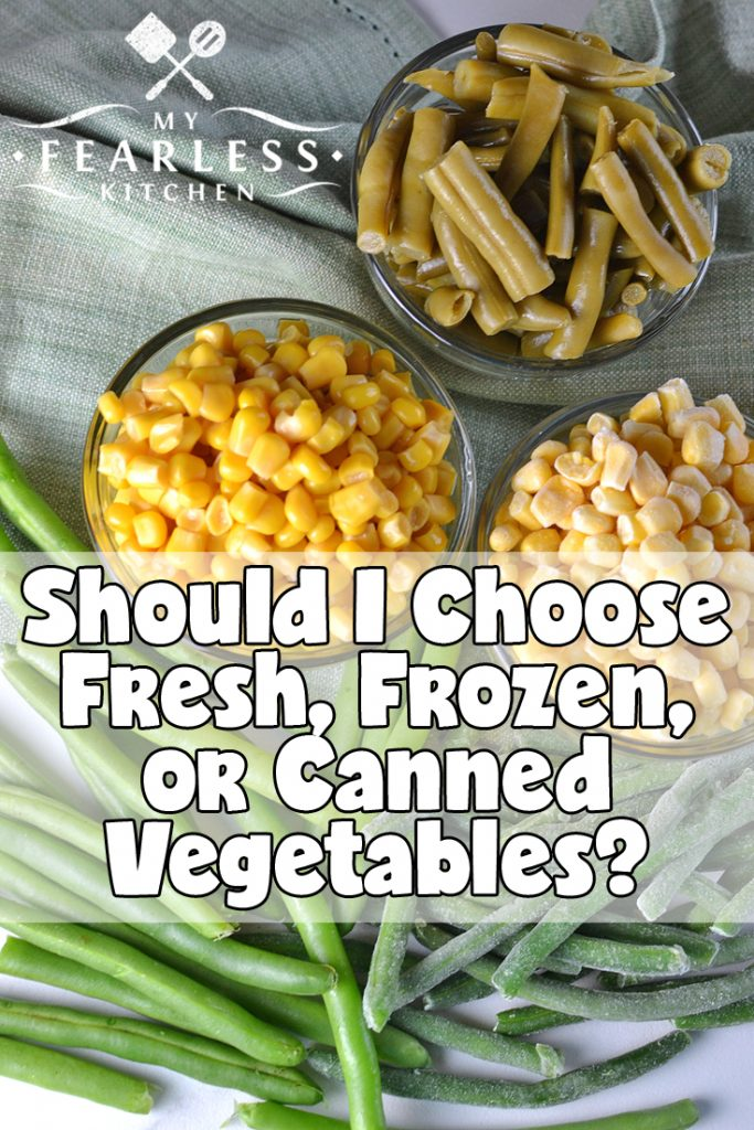 Fresh Frozen And Canned Vegetables