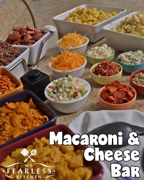Strange Macaroni Cheese Bar Home Remodeling Inspirations Genioncuboardxyz