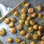 Oven Roasted Parsley Potatoes
