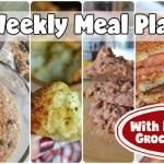 Easy Weekly Meal Plan #60