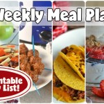 Easy Weekly Meal Plan #62