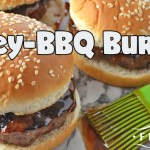 Easy Honey-BBQ Burgers