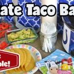 Tailgate Taco Bar