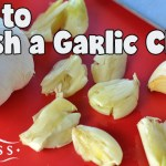 How to Smash a Garlic Clove
