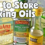 How to Store Cooking Oils