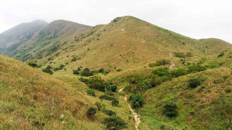 day hikes in Hong Kong Lantau Peak