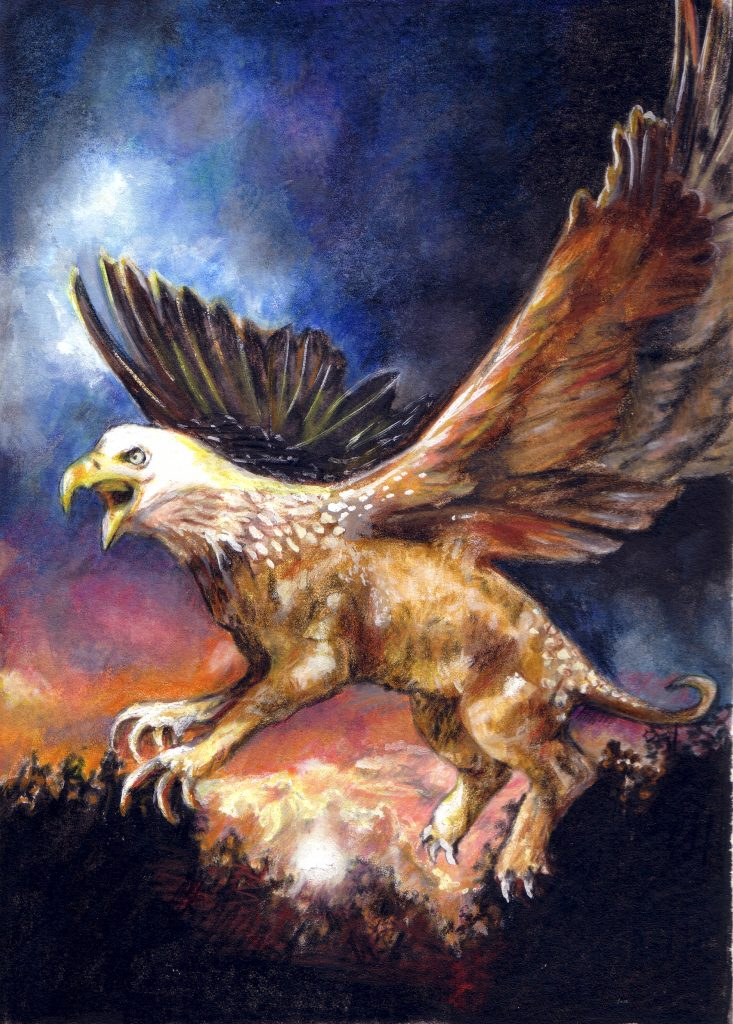 Limited Edition Prints - gryphon