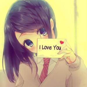 Cute Girls I Love You profile pictures for facebook