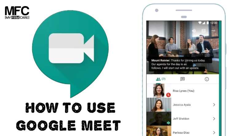 How to Use Google Meet App