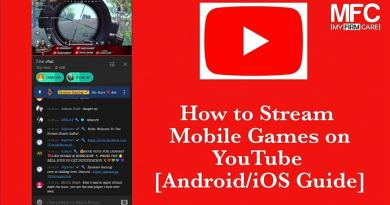 Stream Mobile Games on YouTube