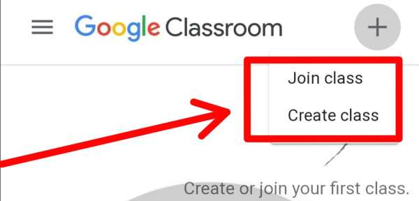 join and create class