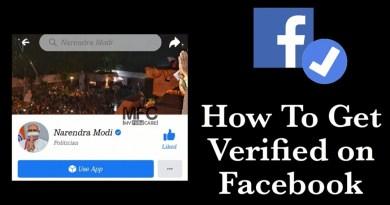 Get Verified on Facebook