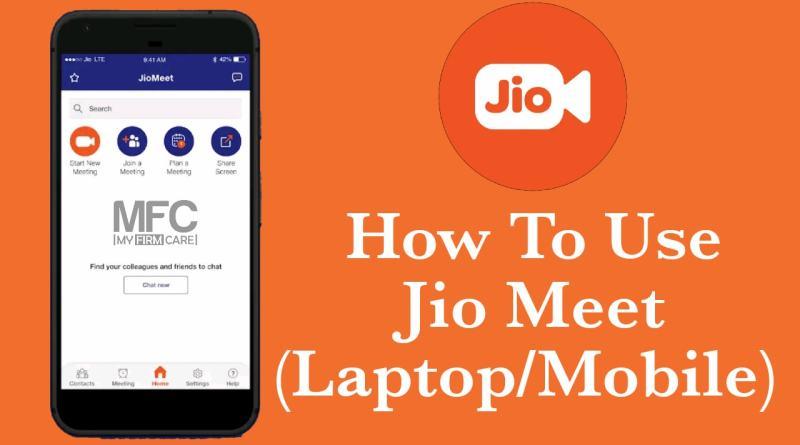 How to use Jio Meet