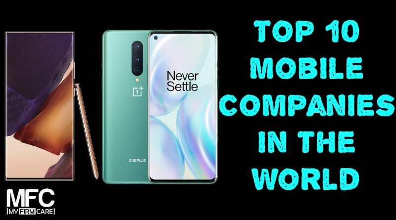 Top Mobile Companies