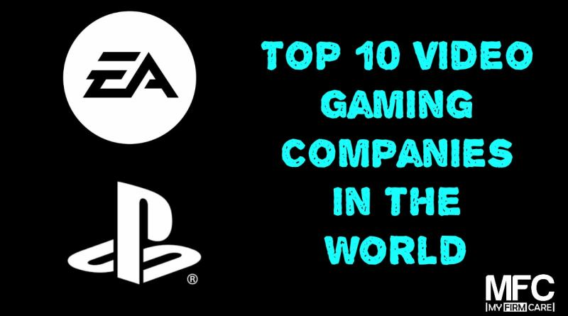 top gaming companies in the world