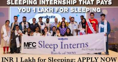 Sleep Internship that Pays 1 Lakh