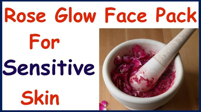 Glowing Face Pack For Sensitive Skin