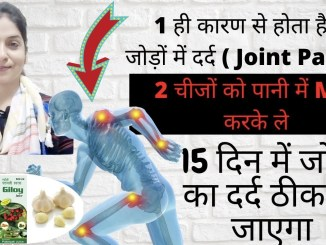 Joint and knee pain relief
