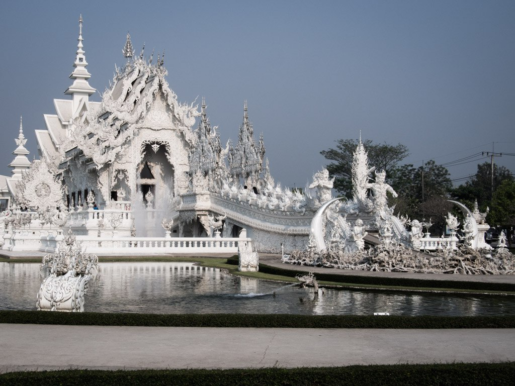 Another postcard shot, The White Temple.