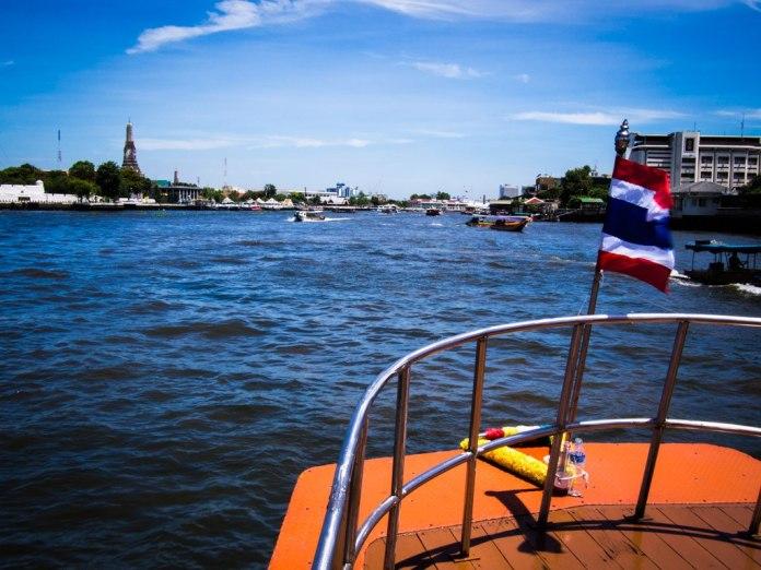 On the Chao Phraya, Bangkok.