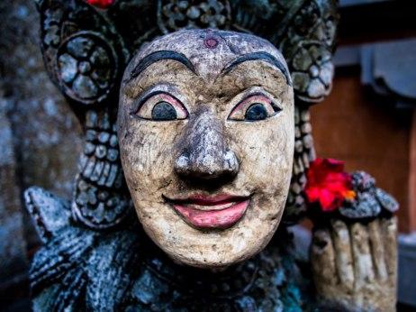 Carving, Bali.