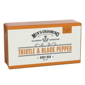 """Растителен сапун """"Трън и Пипер"""" (серия за мъже) - 220 гр."""