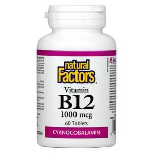 Natural Factors Витамин B12