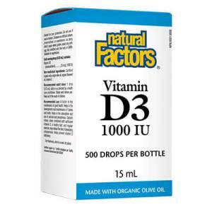 Витамин D3 1000 IU (течен)