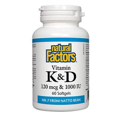 Витамин К2 и D3