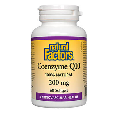 Коензим Q10 200 мг х 60 софтгел капсули