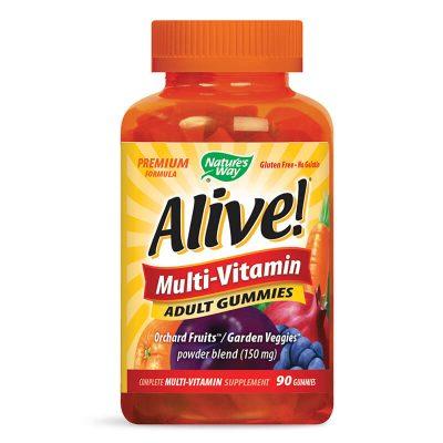 Алайв, Мултивитамини за Възрастни, х 90 желирани таблетки (гъми)