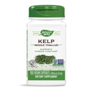 Келп (кафяви водорасли) 600 мг x 100 капс, Nature's Way,