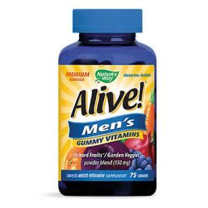 Алайв, Мултивитамини за Мъже х 75 желирани таблетки