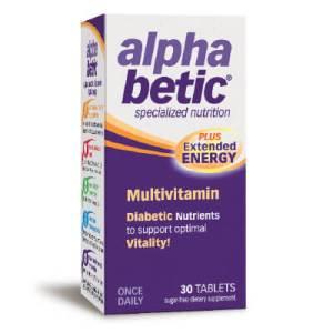 Enzymatic Therapy, Мултивитамини АлфаБетик 760 мг х 30 таблетки