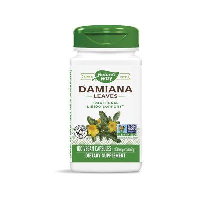 Nature's Way, Дамиана (лист) 400 мг х 100 капсули