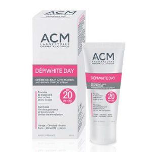 ACM Депиуайт, Избелващ дневен крем за лице с SPF 20 - 40 мл.