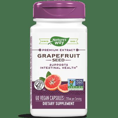 Nature's Way, Грейпфрут семена 250 мг х 60 V-капсули