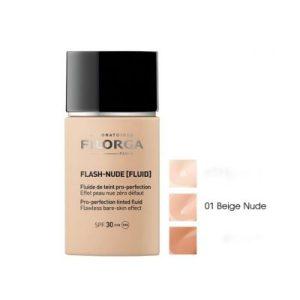 FILORGA Flash-Nude Fluid, Тониран флуид перфектьор SPF30 - цвят 01 Nude Beige, 30 мл.