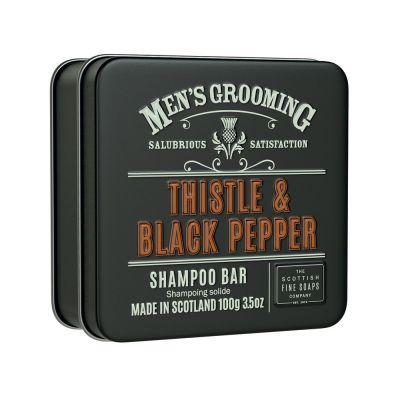 """Сапун-шампоан за коса """"Трън и пипер"""" (серия за мъже) - 100 гр."""
