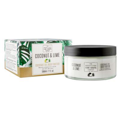 """Масло за тяло """"Кокос и Лайм"""" (Coconut & Lime) - 200 мл."""