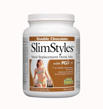 SlimStyles® with PGX®/ Суроватъчен протеин с вкус на шоколад, 800 гр. пудра