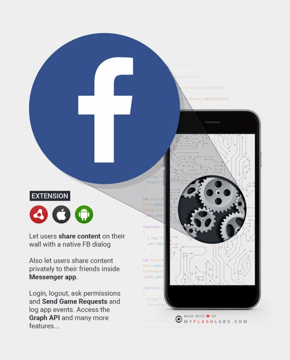 Facebook ANE (Android+iOS)