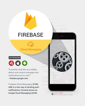 Firebase Air Native Extension (core) Android+iOS - MyFlashLabs