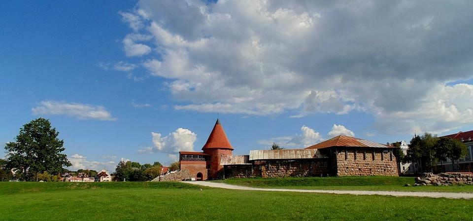 Kaunas, Summer, Old, Town, Lithuania, Travel