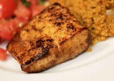 blackened fish mahi mahi