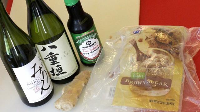 How to make a great teriyaki sauce.