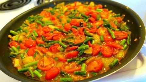 asparagus curry