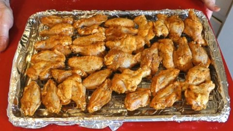 Wings Recipe - Crispy Chicken Wings in the Oven