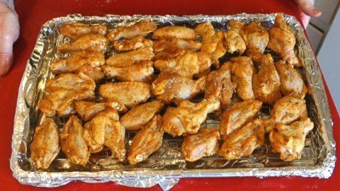 Wings Recipe - Crispy Baked Chicken Wings