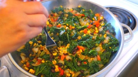 easy kale recipe